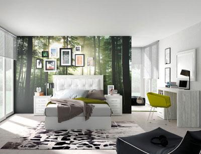 264 dormitorio matrimnonio cabecero tapizado artic soul blanco1