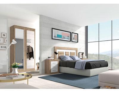 268 dormitorio matrimonio cambrian soul blanco