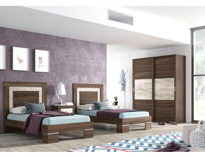 274 dormitorio juvenil britannia vintage
