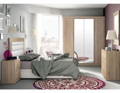 277 dormitorio matrimonio cambrian tapizado blanco