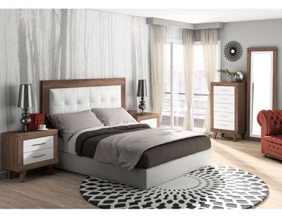 279 dormitorio matrimonio britannia soul blanco tapizado blanco