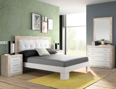 286 dormitorio matrimonio vintage soul blanco