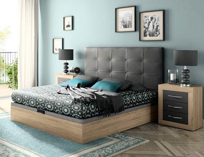 294 dormitorio matrimonio cambrian grafito mate