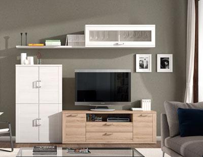 407 mueble salon comedor bodeguero tv polar