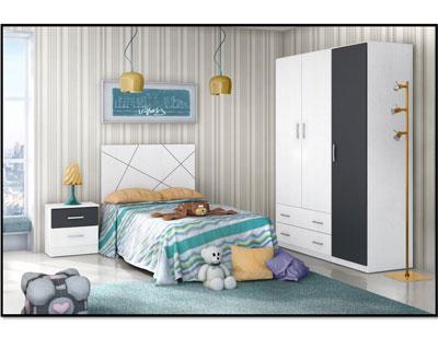 5 dormitorio juvenil armario