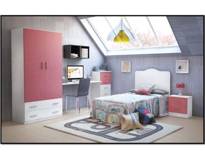 6 dormitorio juvenil armario