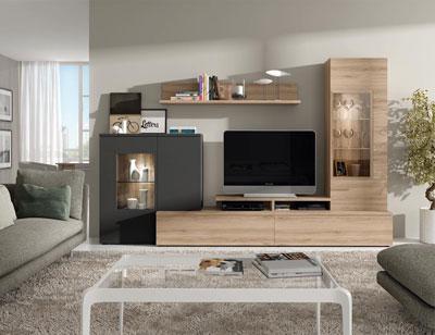 Mesa de comedor extensible libro color roble natural 9207 for Muebles salon roble natural