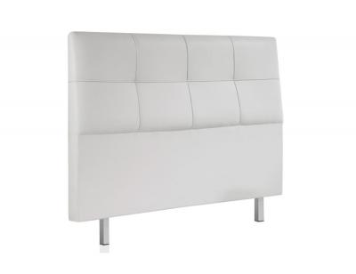 Cabecero tapizado blanco 160 chester