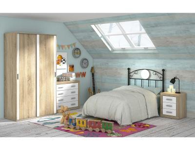Dormitorio juvenil moderno 70