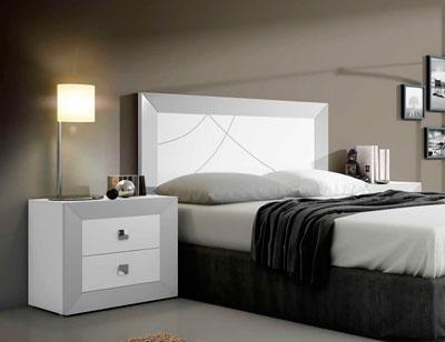 Dormitorio matrimonio moderno cabecero 1