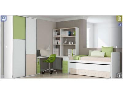 Ih030 dormitorio juvenil