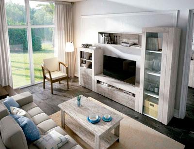 Mueble salon comedor estilo moderno color natural nature 06