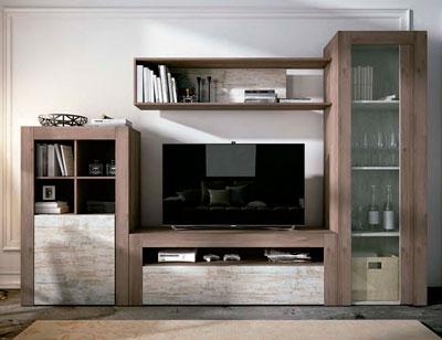 Mueble salon comedor estilo moderno color natural nature 06c
