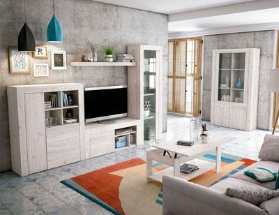 Mueble salon comedor estilo moderno color natural nature 10