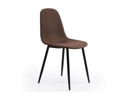 Silla comedor hall tex chocolate