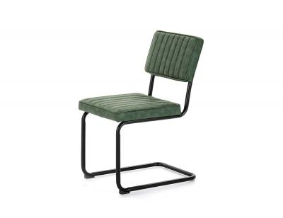 Silla tapizada verde dc 532