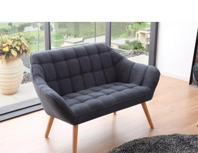 Sofa 2 plazas gris olden