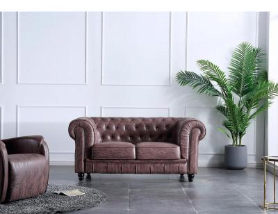 Sofa chester 2p chocolate