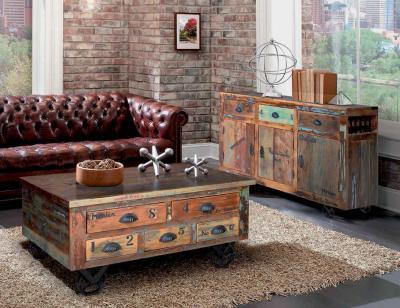 Aparador vintage madera recilcada