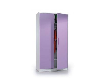 Armario juvenil 2 puertas lila