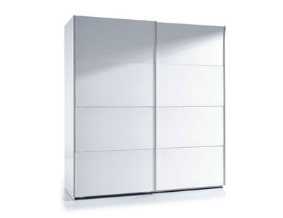 Armario puertas correderas blanco 180 cm