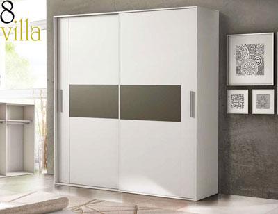 Armario puertas correderas blanco3