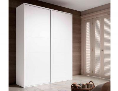Armario puertas correderas colonial blanco