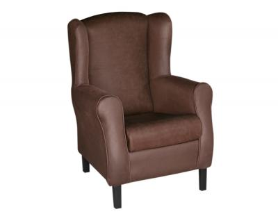 Butaca sillon chocolate bufalo