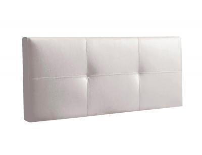 Cabecero tapizado  blanco telma 160