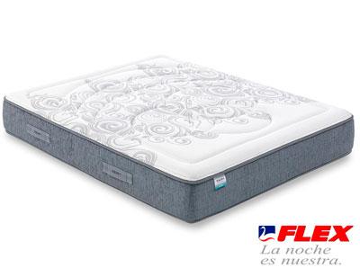 Colchon flex airvex viscoelastica gel 7 medio