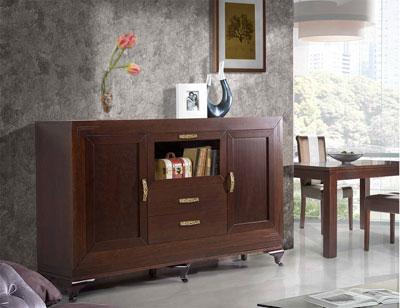 Composicion 11 mueble salon comedor vitrina aparador silla mesa