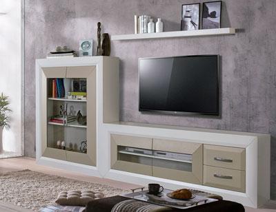 Composicion 4 mueble salon comedor