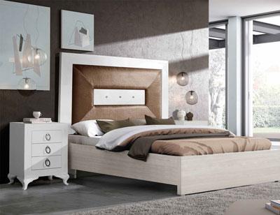 Composicion07 dormitorio matrimonio cabecero tapizado