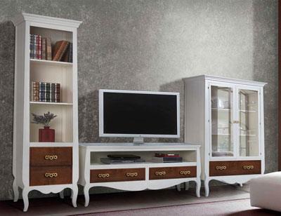 Composicion09 mueble salon comedor librero vajillero1