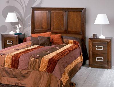 Composicion27 dormitorio matrimonio madera