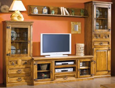 Composicion4 mueble salon comedor madera maciza jalisco