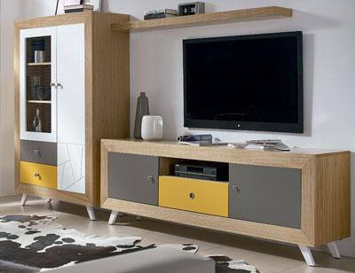 Composicion4 mueble salon comedor