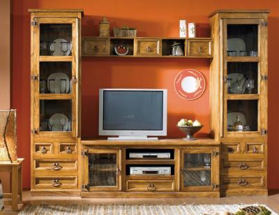 Composicion5 mueble salon comedor madera maciza jalisco
