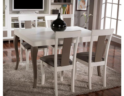 Composicion56 mesa silla pata isabelina
