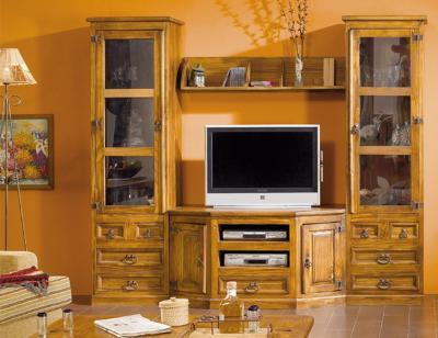 Composicion8 mueble salon comedor madera maciza