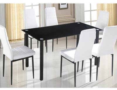 Conjunto mesa sillas blanca