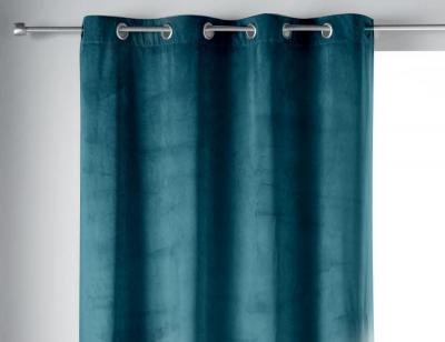 Cortinas de terciopelo azul alicia 2