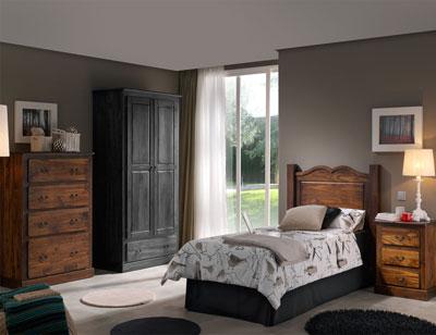 Dormitorio juvenil comoda