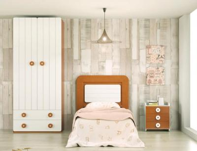 Dormitorio juvenil madera 112