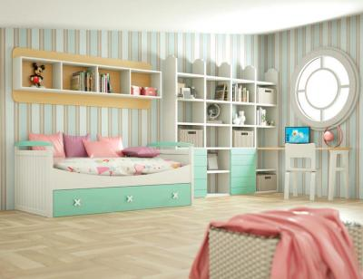 Dormitorio juvenil madera 113