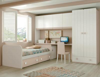 Dormitorio juvenil madera 118