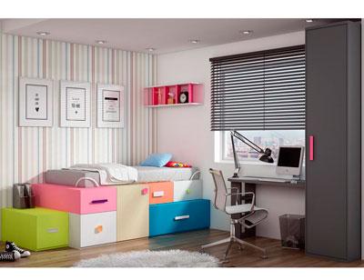 Dormitorio juvenil moderno box cube armario1