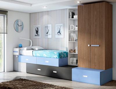 Dormitorio juvenil moderno box cube