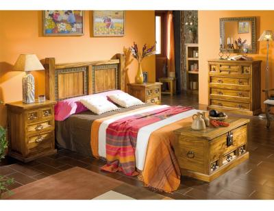 Dormitorio matrimonio cabecero acapulco girasol