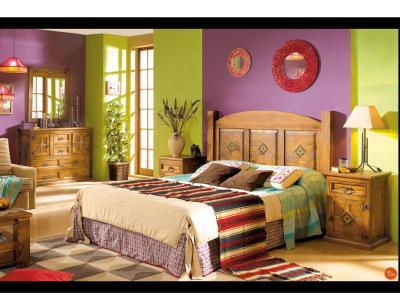 Dormitorio matrimonio cabecero chihuahua girasol 135